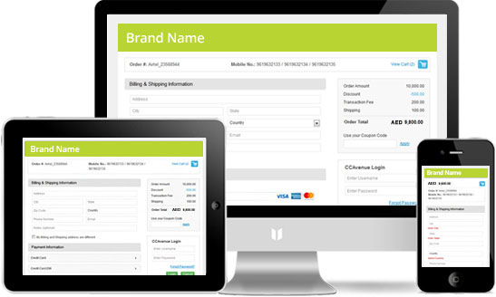 Fully Responsive Transaction Page
